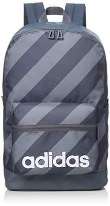 684e43d83d6a adidas (アディダス) - [アディダス] リュック リニアロゴストライプバックパック ブラック/