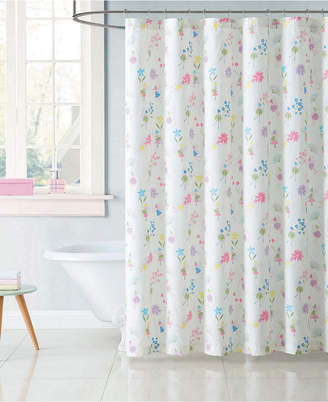 Laura Hart Kids Garden Fairies Shower Curtain Bedding