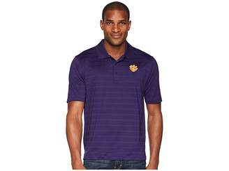 Champion College Clemson Tigers Textured Solid Polo Men's Short Sleeve Pullover