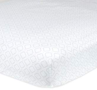 Gerber Baby Girl 100% Cotton Fitted Standard Crib Sheet