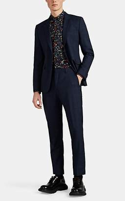 Paul Smith Men's Kensington Checked Worsted Wool Two-Button Suit - Navy