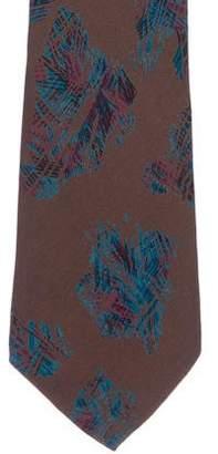 Chloé Silk Geometric Print Tie