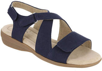 MIA AMORE Mia Amore Womens Terry Strap Sandals