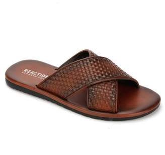 9f3ddb8b2596 Kenneth Cole Reaction Woven Slide Sandal