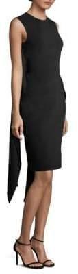 Givenchy Wrap-Sash Sheath Dress
