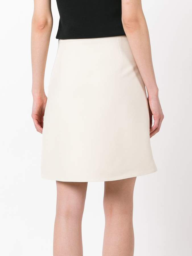 Gucci buttoned A-line skirt