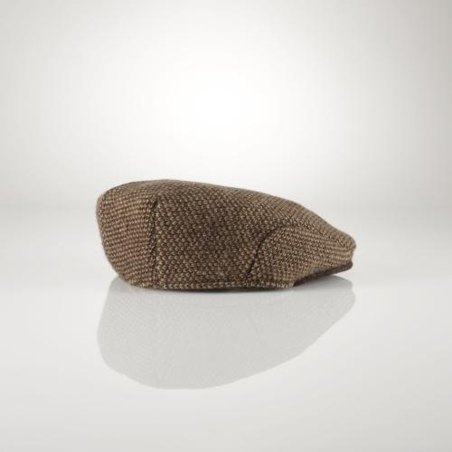 Ralph Lauren Tweed Driving Cap