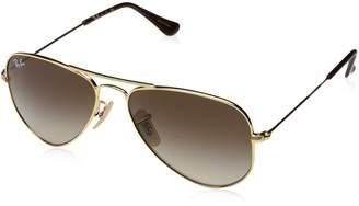 Ray-Ban Kids' 0rj9506s223/1352junior Aviator Sunglasses