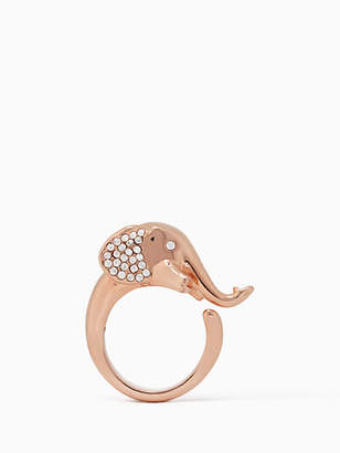 Kate Spade Things we love elephant ring