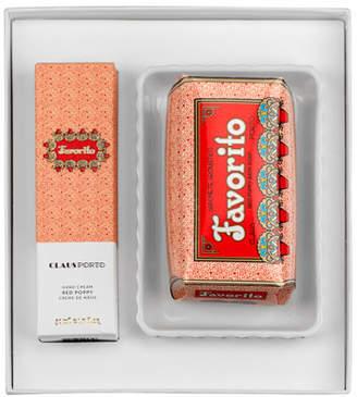 Claus Porto Exclusive FAVORITO Hand Cream+Soap+Dish Gift Set