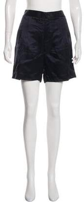 Theyskens' Theory Pleated Knee Length Shorts