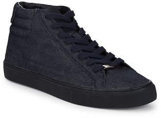 True Religion Men's Denim Hi-Top Sneakers