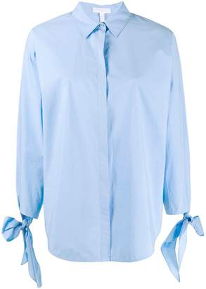 Escada Sport bow detail shirt