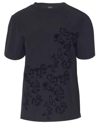 Boo Pala London Black Doodle T-shirt