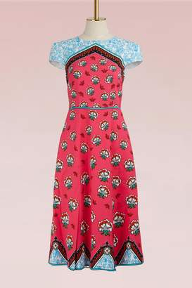 Mary Katrantzou Osmond Crepe Midi Dress