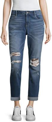 Arizona Sequin Boyfriend Jeans-Juniors