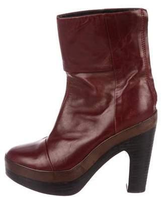 Rag & Bone Leather Platform Boots