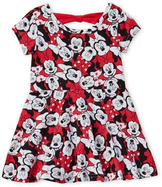Disney Toddler Girls) Minnie Mouse Print Dress