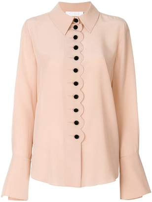 Chloé scalloped blouse