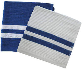 Jamie Oliver Set of 2 Terry Ribbed Dish Cloths