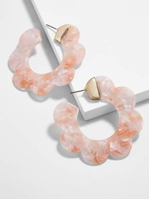 Dorine Resin Hoop Earrings