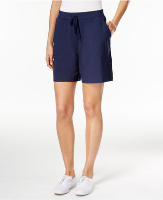 Karen Scott Drawstring Active Shorts, Only at Macy's $14.98 thestylecure.com