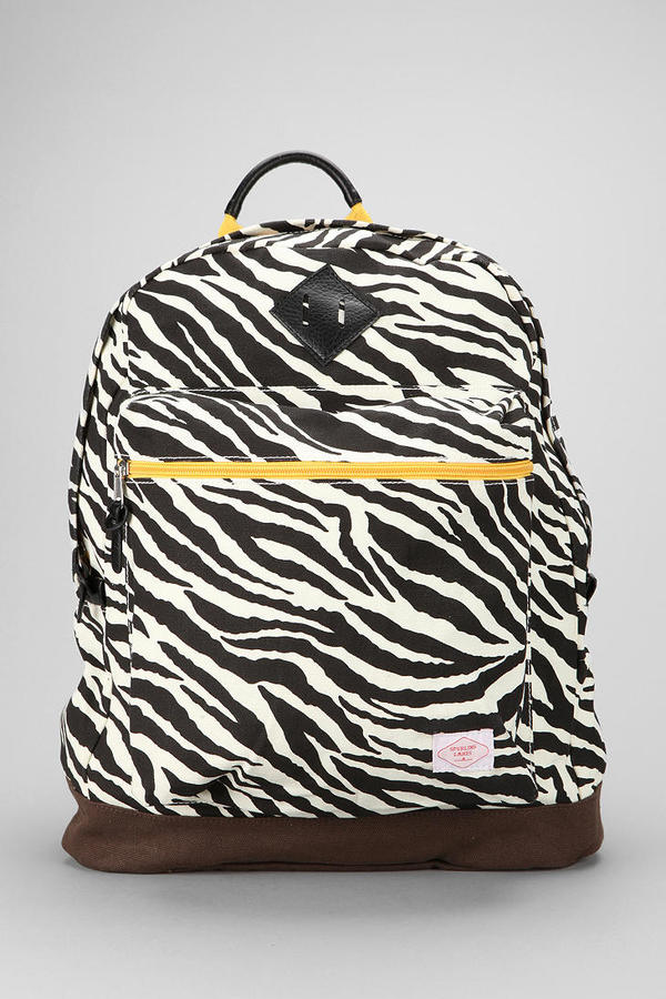Urban Outfitters Spurling Lakes Zebra Backpack