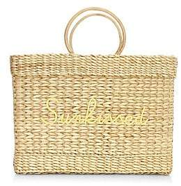 Poolside Women's Large Lizzy Woven Sunkissed Beach Tote