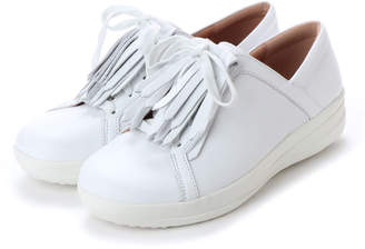 FitFlop (フィットフロップ) - フィットフロップ FitFlop F-SPORTY II LACE UP FRINGE SNEAKERS - LEATHER
