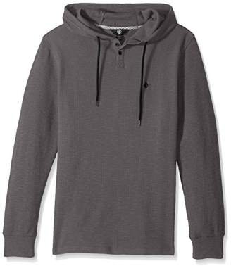 Volcom Men's Murphy Hooded Thermal Shirt