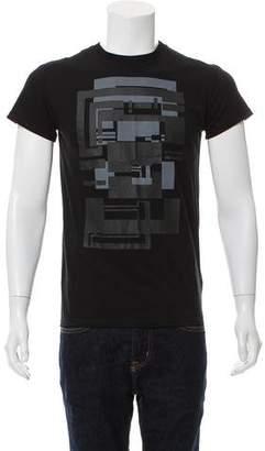 Christian Dior Geometric Graphic T-Shirt