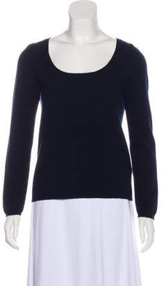 Malo Cashmere Scoop Neck Sweater Navy Cashmere Scoop Neck Sweater