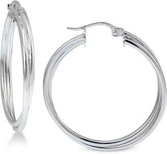 Giani Bernini Twisted Hoop Earrings in Sterling Silver, Created for Macy's
