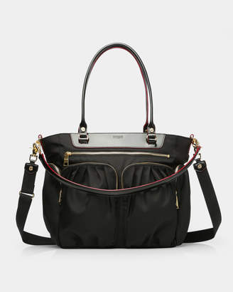 MZ Wallace Black Abbey Tote
