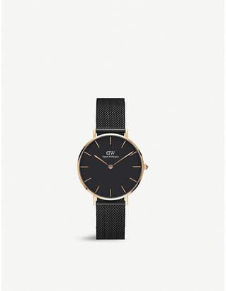 Daniel Wellington DW00100201 Ashfield petite rose gold-plated watch
