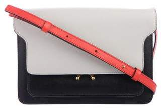 Marni Leather Trunk Crossbody Bag