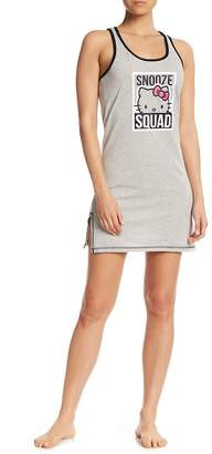 Hello Kitty Snooze Squad Graphic Print Chemise