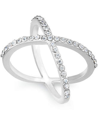 INC International Concepts I.N.C. Criss Cross Rhinestone Rings, Created for Macy's