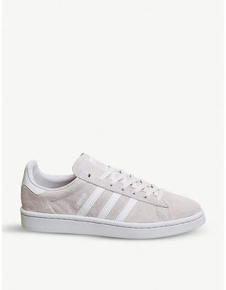 Campus Pride Canvas-trimmed Suede Sneakers - Off-white adidas Originals wN5TF