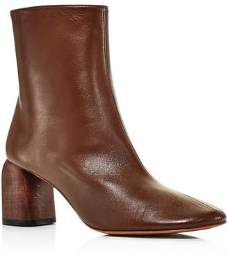 LOQ Women's Georgia Leather Ankle Booties