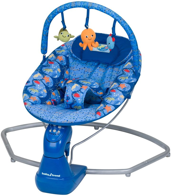 Baby Trend Swing Bouncer - Coral Reef