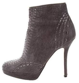 Christian Dior Miss Platform Ankle Boots