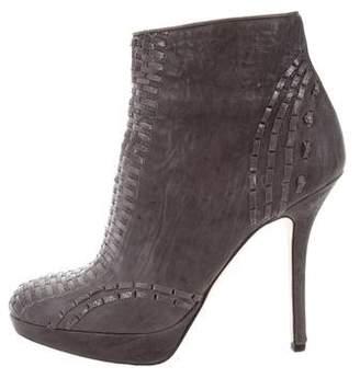 Christian Dior Miss Platform Ankle Boots