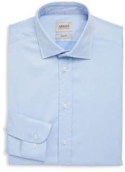Armani Collezioni Slim Buttoned Dress Shirt