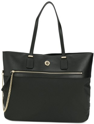 Tommy Hilfiger chain detail tote bag