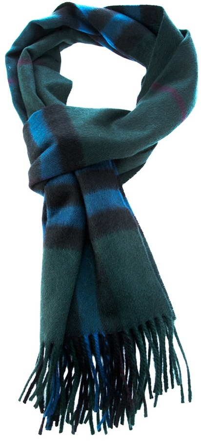 Burberry striped scarf