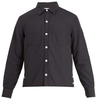 Moncler Gamme Bleu Seersucker Jacket - Mens - Navy
