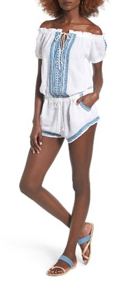 Women's Rip Curl Far Out Off The Shoulder Romper $59.50 thestylecure.com