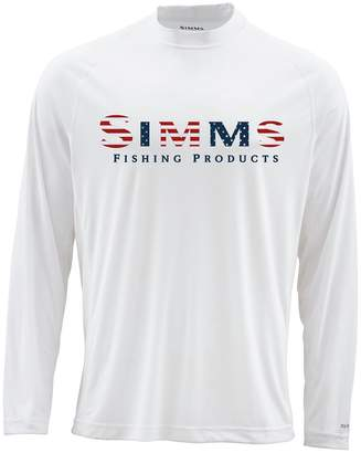 Simms Solarflex Long-Sleeve Crewneck Print Shirt - Men's