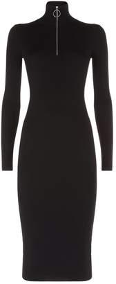 AllSaints Lacey Zip Dress